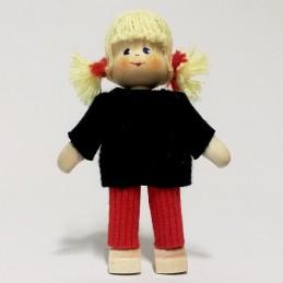 Mädchen, Pullover, Haare blond