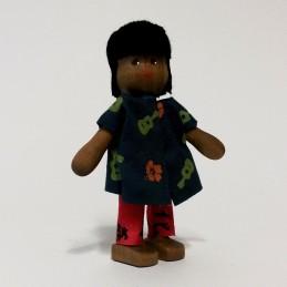 Junge, Paopao von Hawaii