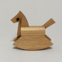 Schaukelpferd, Holz