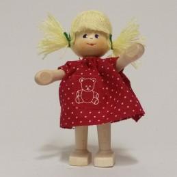 Mädchen, Teddykleid