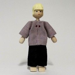 Vater, Hemd, Haare blond