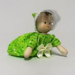 Baby, Kleid grün