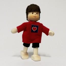 Junge, Shirt mit Herz